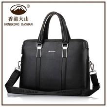 HK DA SHAN brand hot sell genuine leather bag for men