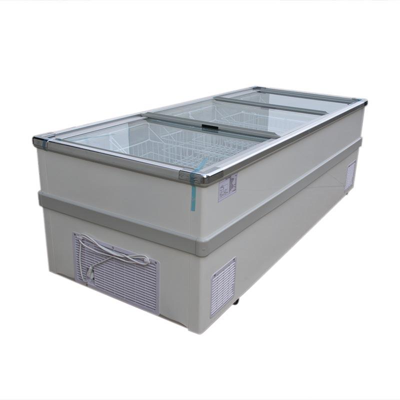 Cheap Price Top Sliding Glass Door Chest Freezer For Shop