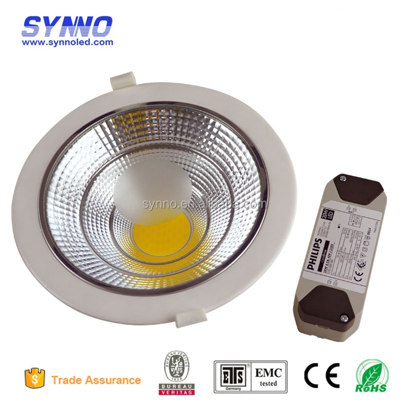 10W Ip33 Round Recessed SMD LED Downlight For Housing