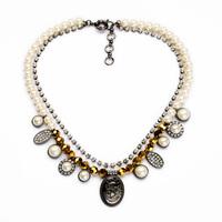 Pearl Nacelace Portrait Necklace Fine Necklace for Women