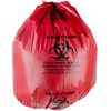 Factory direct supply cheap plastic bag for the garbage, best popular high quality red garbage plastic bag