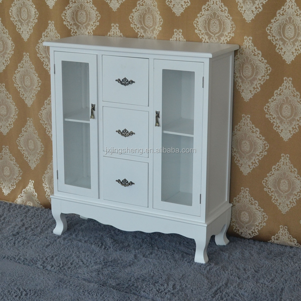 Alibaba Express French Style Bedroom Furniture Wood White Display