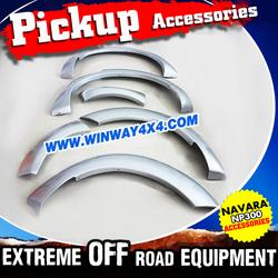 Abs Plastic Wheel Cover Fender Flare For 2014-2015 Navara NP300 D23