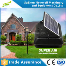 SuperAir 12w 24v green energy solar powered exhaust ventilation fan for house