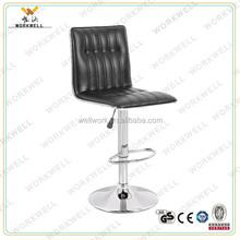 Workwell KW-B2216a metal cromagem banco do bar de base boa venda bar stool