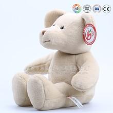 Custom made big white bear toys & plush teddy bear white & plush tedy bear