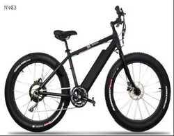 26 inch fat tire electric ATV bike model chopper