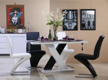 2015 hot sale morden high gloss Dining table