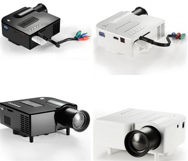 Hd digital multimedia mini portable led projector winait for Cheap mini portable projector