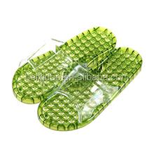 men crystal grace colorful ported summer shower massage slippers