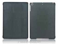 Ultra thin tablet cover case for iPad air , leather case for iPad 5