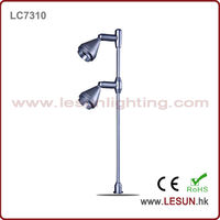 Double led showroom display lighting for jewelry store LC7310