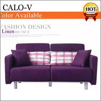New design wear resistant linen fabrics folding sofa beds dubai