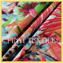 Use for woman's dress Soft and smooth hand-feel plain chiffon fabric textile