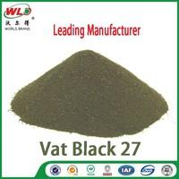 Vat Olive R/C.I.Vat Black 27 cotton fabric dye