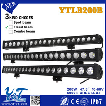News Hot Sale Product 4X4 offroad led driving light bar, 200w Offroad LED Work Light bar With Coloful Cover, auto car led light