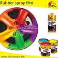 Carlas extraíble spray de pintura de coches, aerosol spray de pintura, pintura de goma del aerosol para rueda