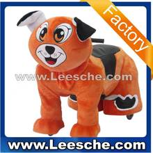 LSJQ-24 Popular gifts Zippy animal Ride on toy electric walking animal rides with battery for amusement park