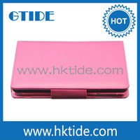 Gtide Leather Case Stand Cover Bluetooth Keyboard For Apple iPad Mini