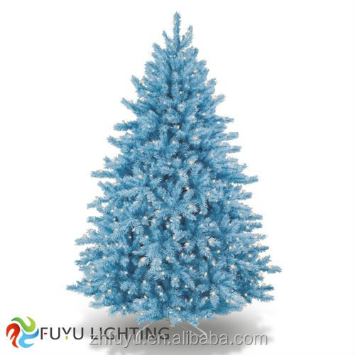 Wholesale outdoor pvc artificial christmas tree with led