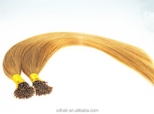 best type human hair extensions I- Tip human hair extensions 100 keratin tip human hair extension