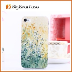 Custom mobile phone back cover case for iphone 4 4s