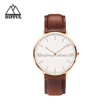 China Watch Factory Newest Design Waterproof Fashion Leather Watch, Wholesale Promotional Silicone Watch,Low Price Fashion Watch