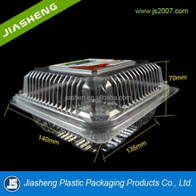 clear plastic clamshell fruit packaging containers