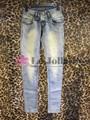 2015 para mujer de moda Jeans ajustados LD-010