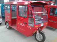 Auto battery power electric tricycle for 5-6 passengers