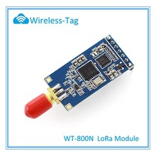 Embedded MESH distributed MANET protocols RF module WT-800N mesh network 420~450MHz LoRa module 2-3 km RF module