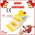 más calientes de venta ce aprobado automático completo 96 huevosincubadora del huevo de criadero para la venta