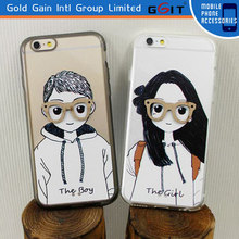 Cell phone cover for iPhone 6 with pc material