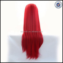 Hot sale cheap 100% synthetic hair long hair wig with bang fringe cosplay wigs