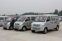 Cost-effective 8 Seats Mini Passenger Van With Petrol Euro4 Engine