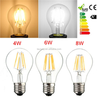 A19/A60 E26/E27 4W Led Filament Edison Bulb Hot Sale In Market