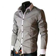 A68 Alibaba europe fashion slim new model casual shirt for men 2015