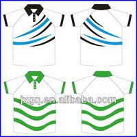 Wholesale 100% polyester sport jersey custom dye sublimated polo shirts