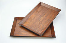 New designed eco-friendly unfinished cheap wooden tray