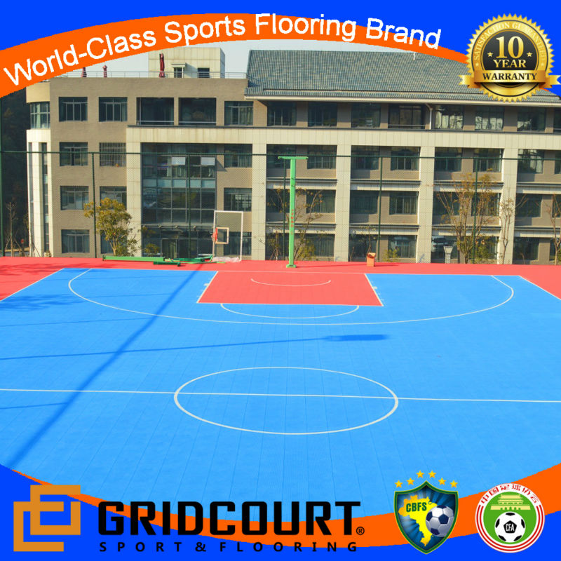 2014 Gridcourt hot sale basketball flooring