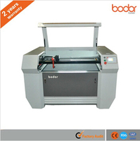 CNC CO2 CCD laser engraving and cutting machine for label and trademark