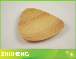 CND-W01A Wooden snake plate, triangle plate, wood chip and dip plate