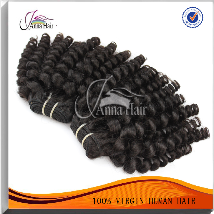 Anna Hair High Quality Spring Curly Hair Cheap 100 Real Brazilian