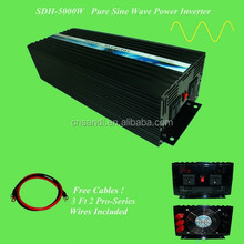 Inverter 5000 watt 220 volt with switch on power utility when battery are low