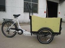 family rickshaw 3 wheel Cargo tricycle bicycle bike