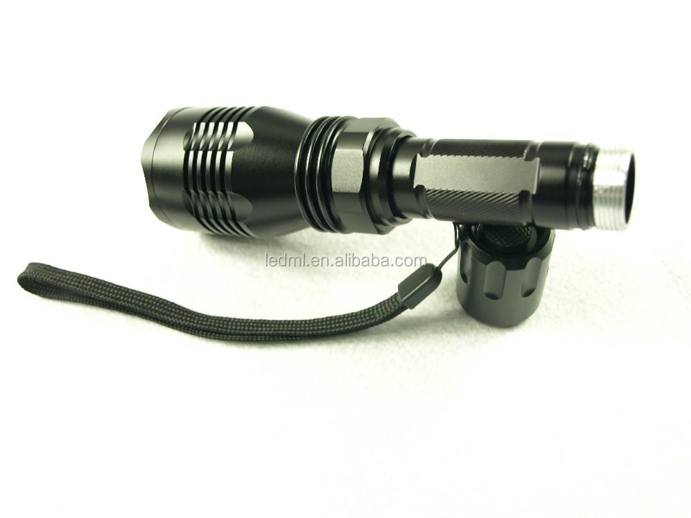 hog hunting light gun mounted hog flashlight kit in red or. Black Bedroom Furniture Sets. Home Design Ideas