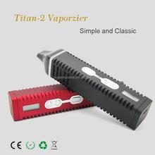 latest titan 2 herbal vaporizer with digital display,factory supply herbal Vaporizer hebe vape pen