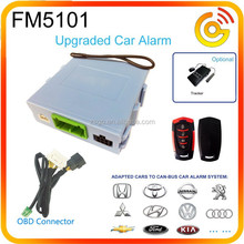 Innovative Canbus Car Security Alarm control by cell phone app FM5101