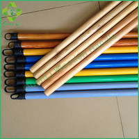 dust sweeping pvc coated wooden mop handle for household chealning cheap product