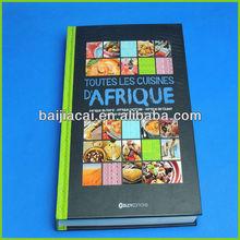 de alta calidad duro de la cubierta book servicio de impresión en china